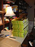 Backstage bookstore