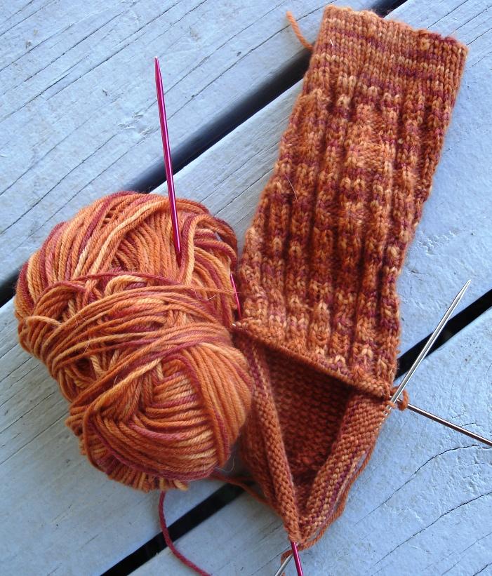 HookEm sock 0910