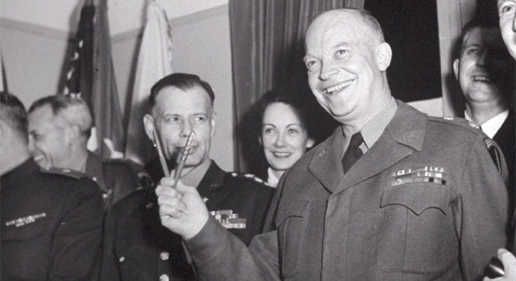 Eisenhower VE day