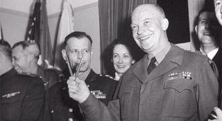 Eisenhower VE day